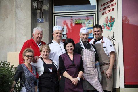 Notre équipe - Boucherie Ruffenhach à Réding
